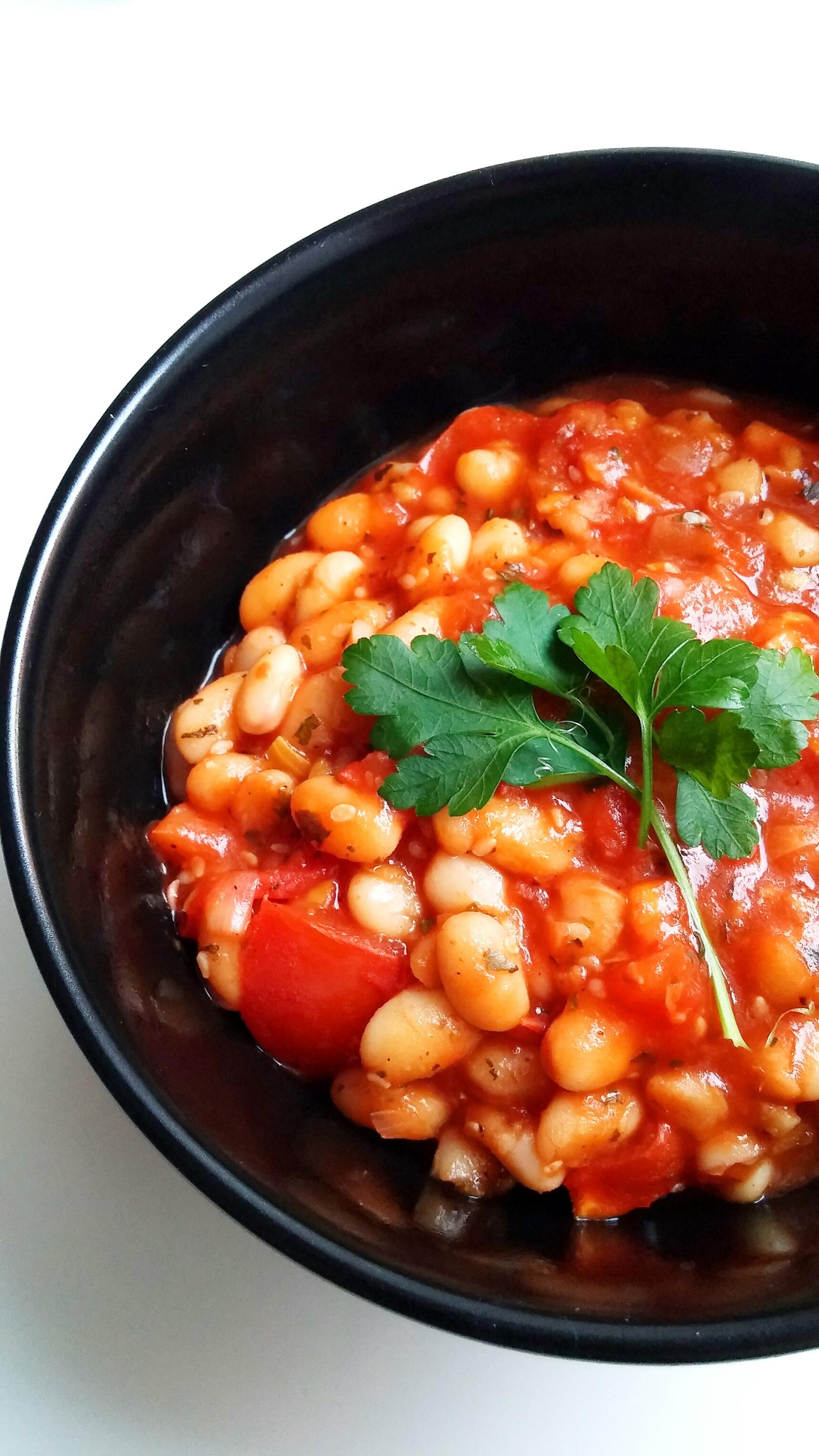 Bohnen-Tomaten-Pfanne2