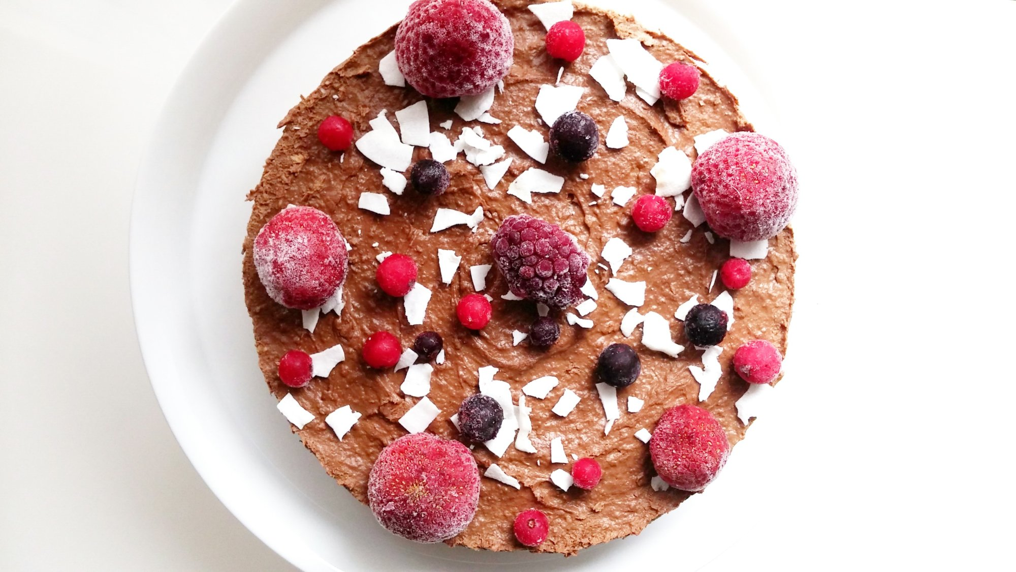 raw vegan double layer cake4