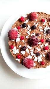 raw vegan double layer cake5