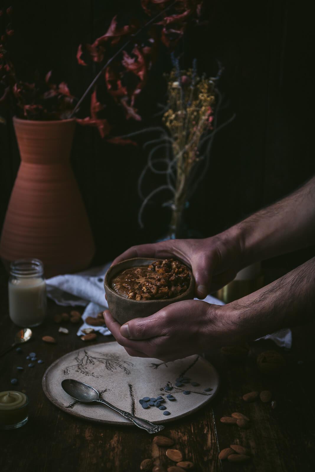 Dinkelvollkorngrieß, Dinkelgrieß, Dinkelgrießbrei, Grießbrei vegan, vegan Dinkelgrieß, vegan Frühstück, vegan Brei Frühstück Rezept, Dinkelgrießbrei mit Vanille, Dinkelgrieß mit Vanille