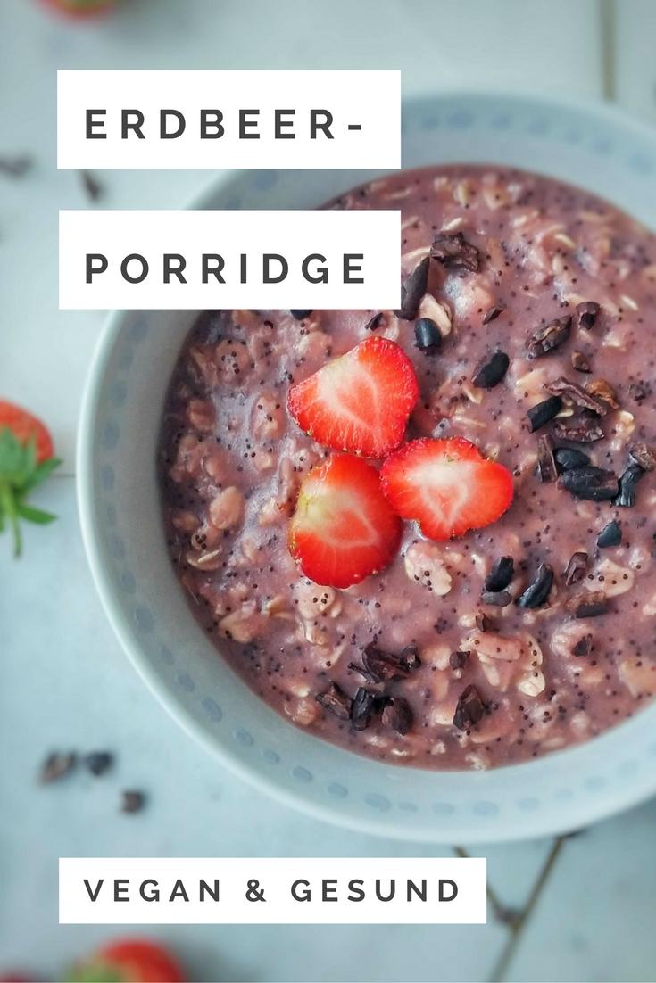 Erdbeer-Porridge