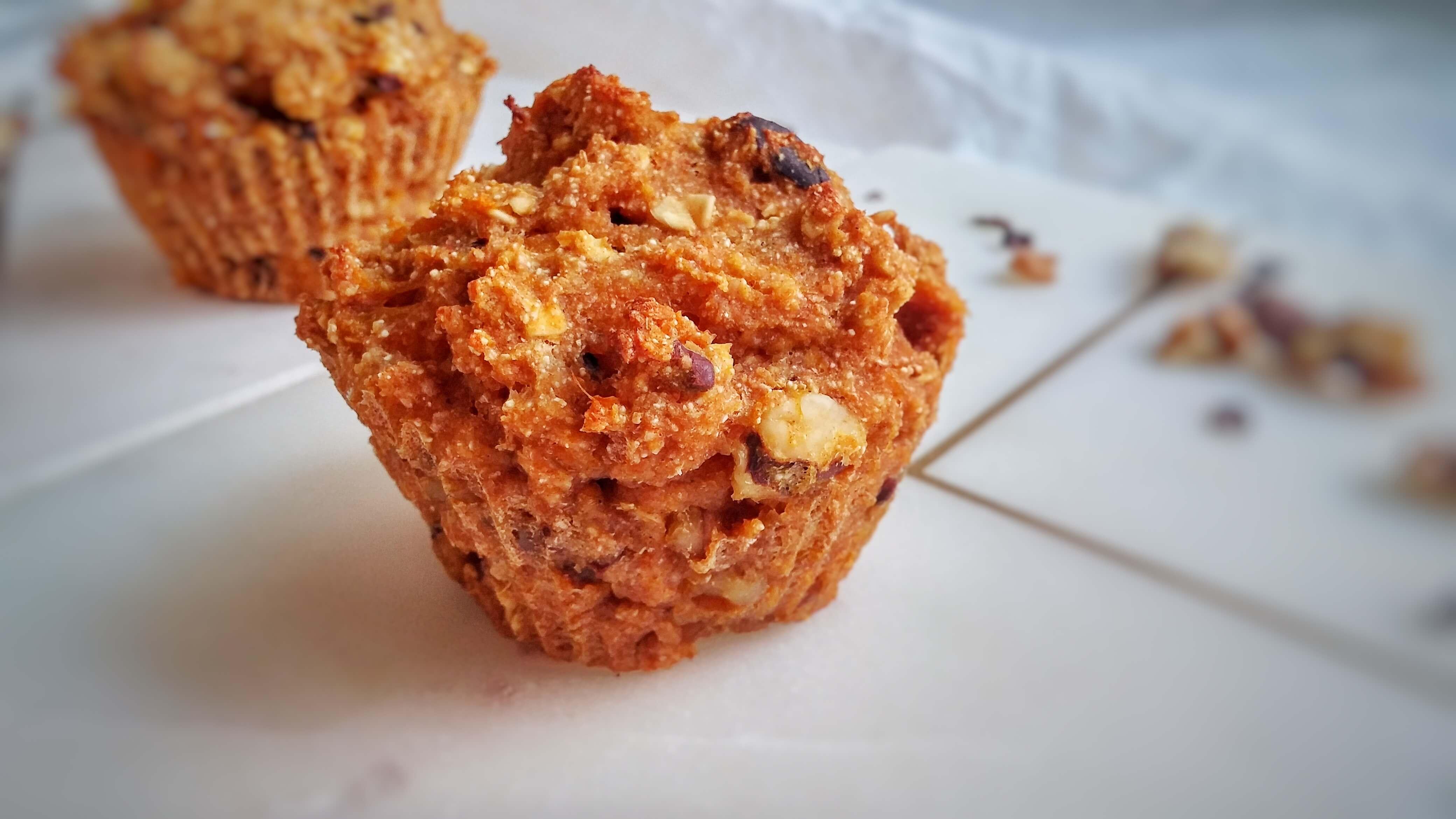 Kürbismuffins, gesunde Kürbismuffins, vegane Muffins mit Kürbis, Butternutmuffins, Herbstmuffins
