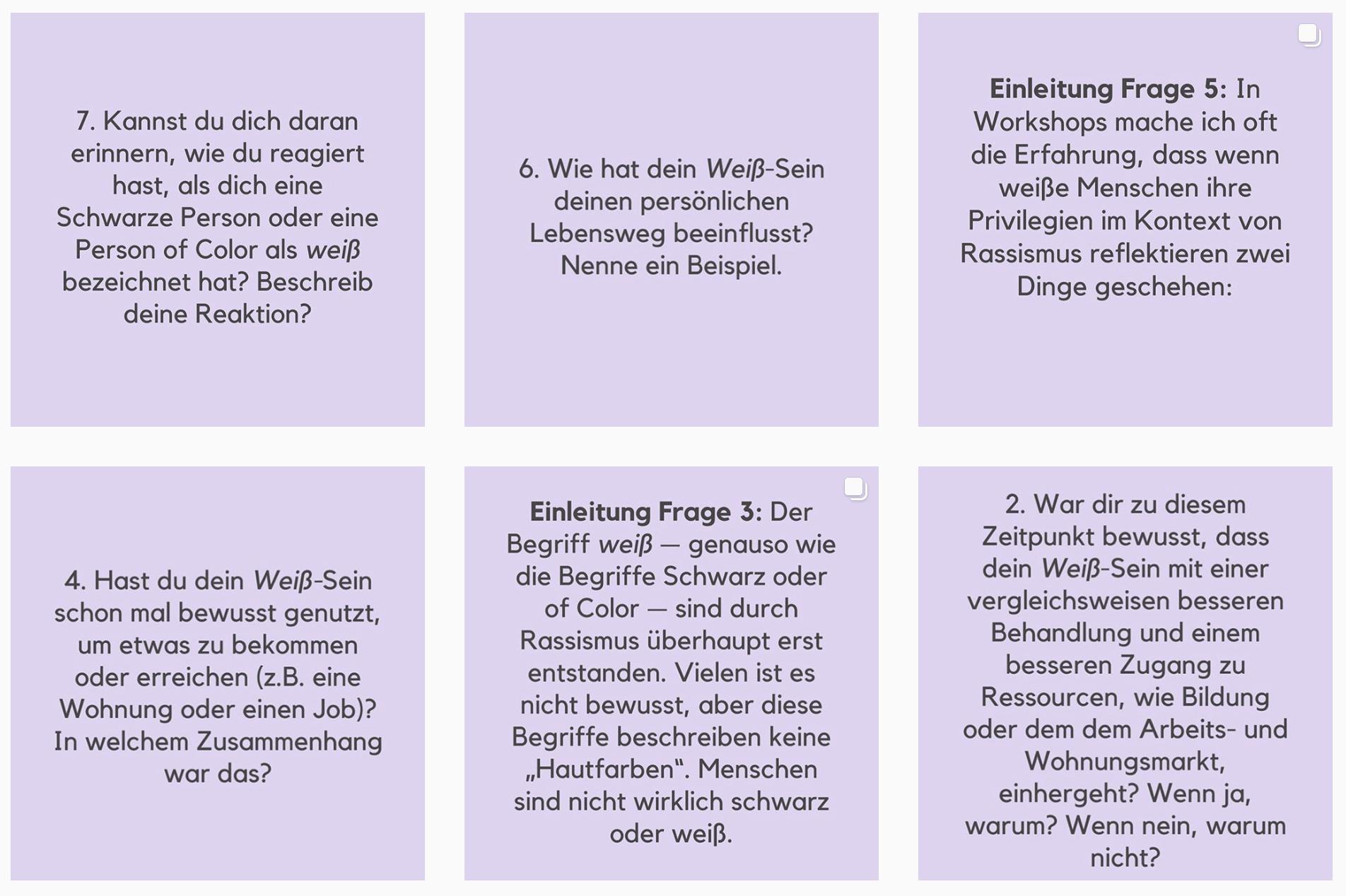 Kritische Weißheiten, Weiß-Sein, Weiß Rassismus, Rassismus in Deutschland, Instagram-Challenge Rassismus, Rassismus Reflexion, Reflexion über Rassismus