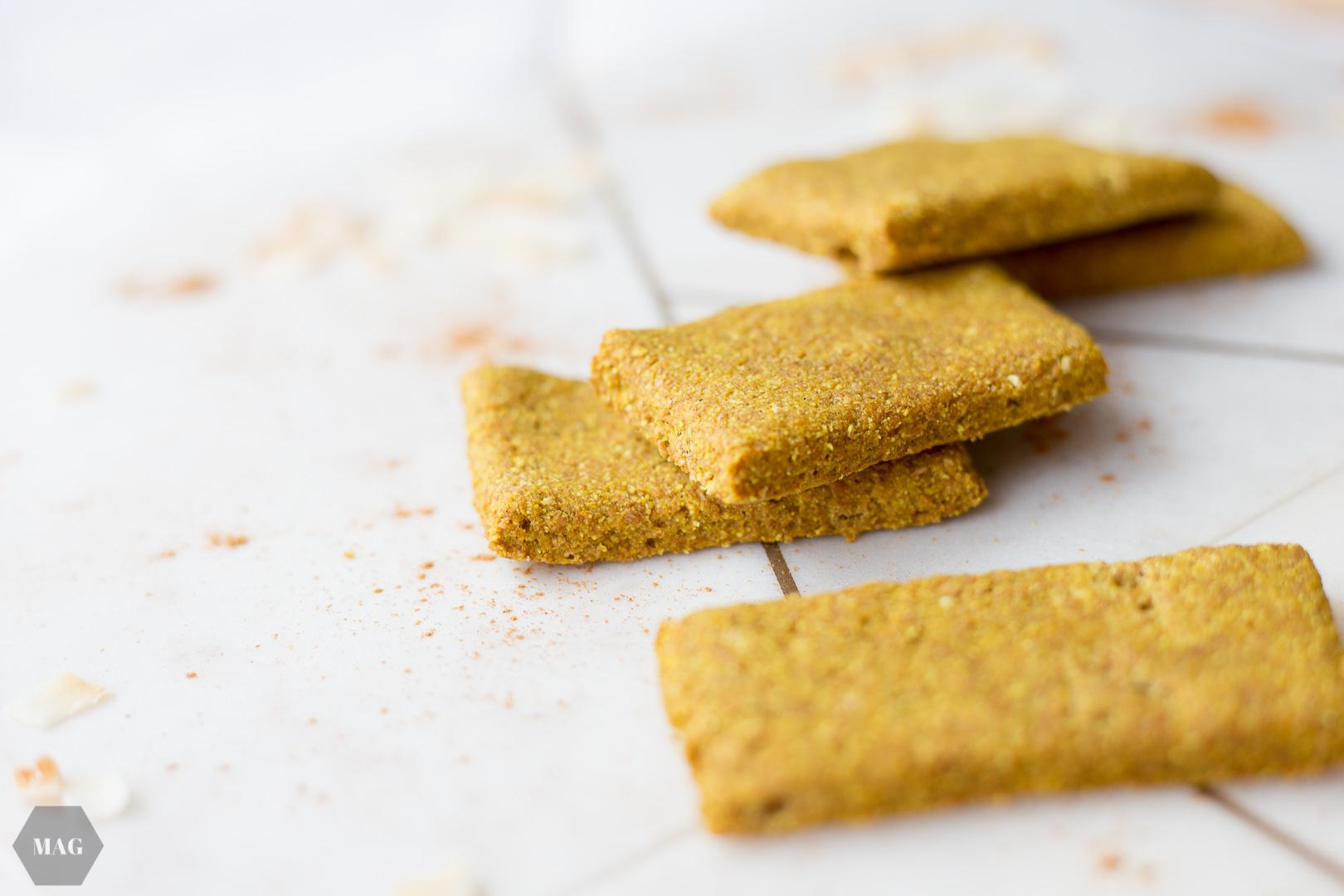 Kurkuma-Kekse nach Art der Goldenen Milch