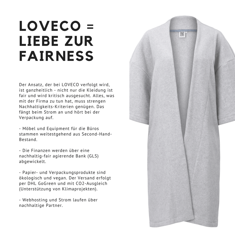 LOVECO, Loveco, Fair Fashion kaufen, Fair Fashion und vegane Mode, vegane Mode, vegane Mode kaufen, LOVECO vegan, Vegane Fair Fashion, Fair Fashion Onlineshop, Onlineshop vegane Mode, Vegane Fashion