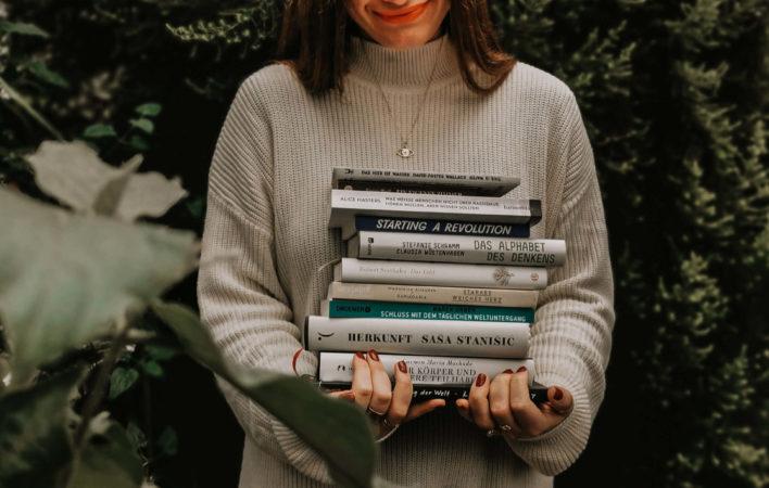 Leserückblick, Lesen, Bücher, Buchempfehlungen, Bücher 2019, gelesene Bücher 2019, Buchrezensionen 2019, Buchempfehlung, Bücherliste, Bücher Feminismus, Bücher Nachhaltigkeit, Buch Tipps