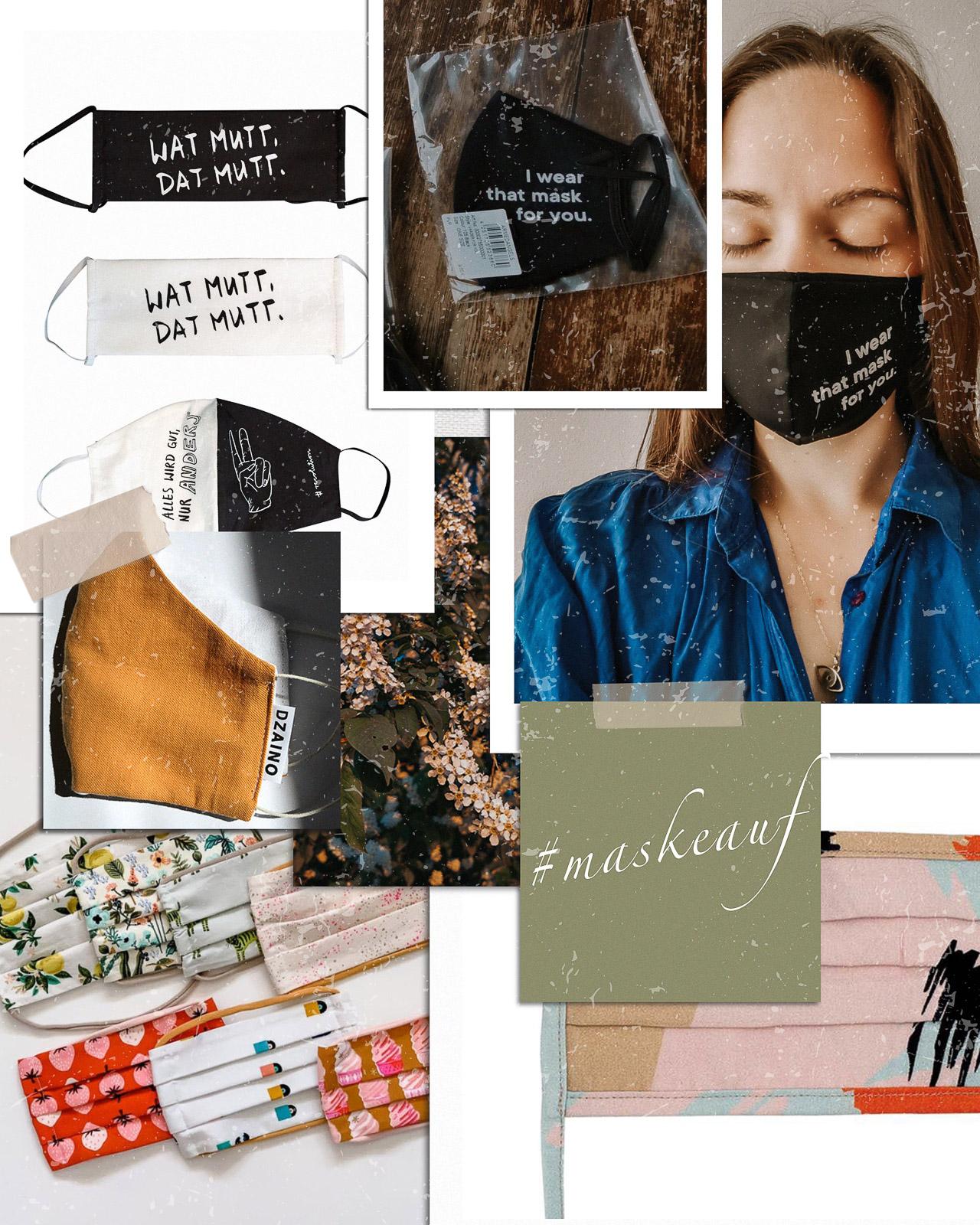 #maskeauf: Wo ihr Mund-Nase-Masken kaufen könnt und wie