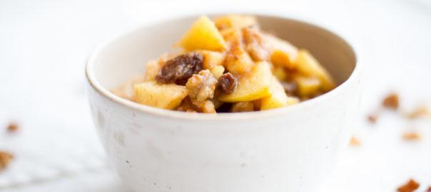 porridge mit quittenkompott, herbstlicher porridge, porridge mit quitte, quittenporridge
