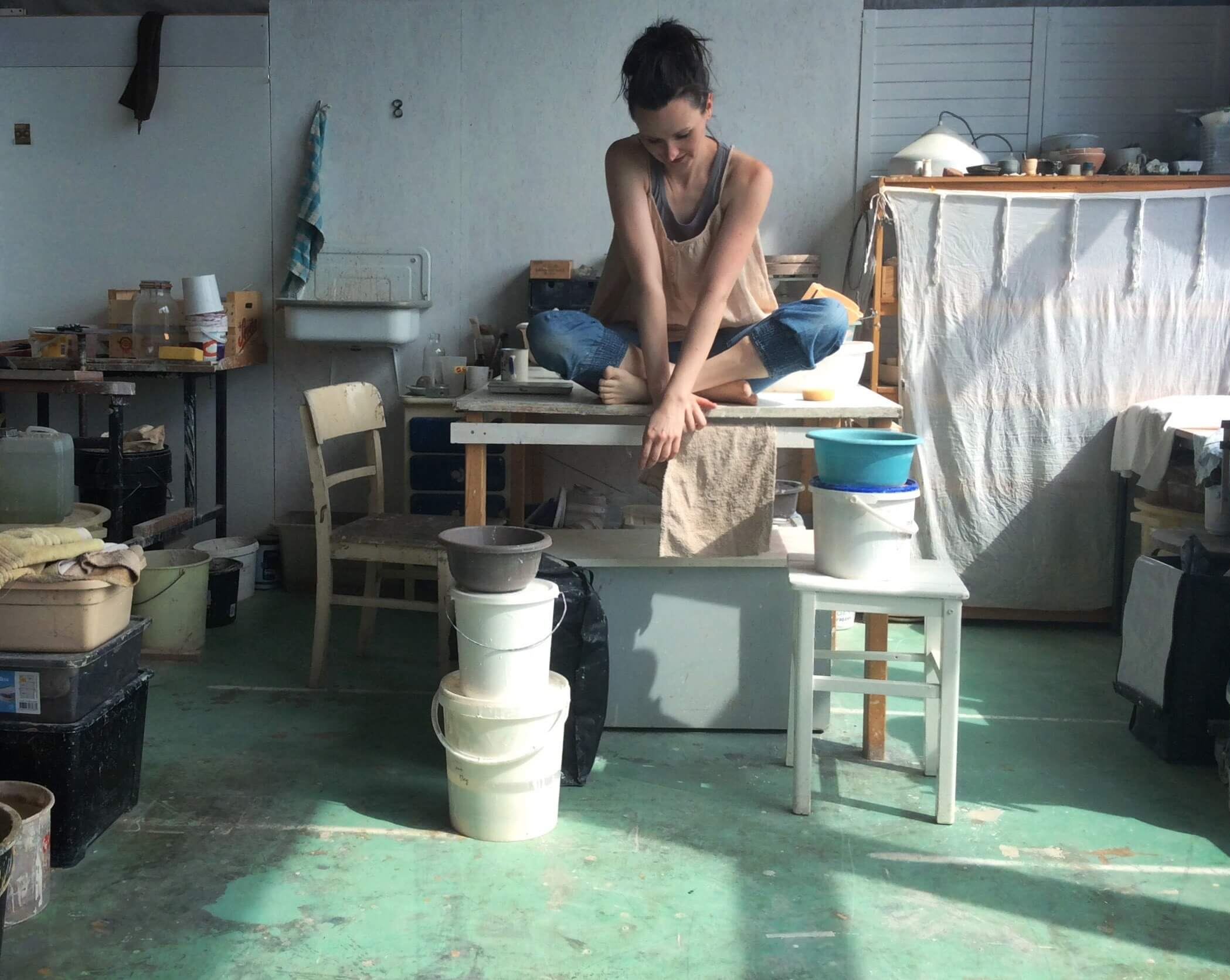 Gesunder Kalter Hund im Miniformat und tolle Keramik von Tina Kami