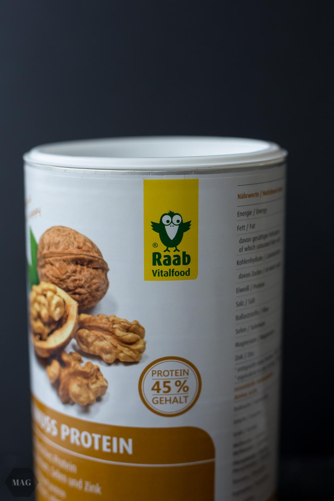 Walnuss-Brownie-Muffins, Bio Walnuss Protein, Raab Vitalfood, Nuss Muffins, vegane Nuss-Muffins, Walnuss Eiweiß, Bio Walnuss Eiweiß