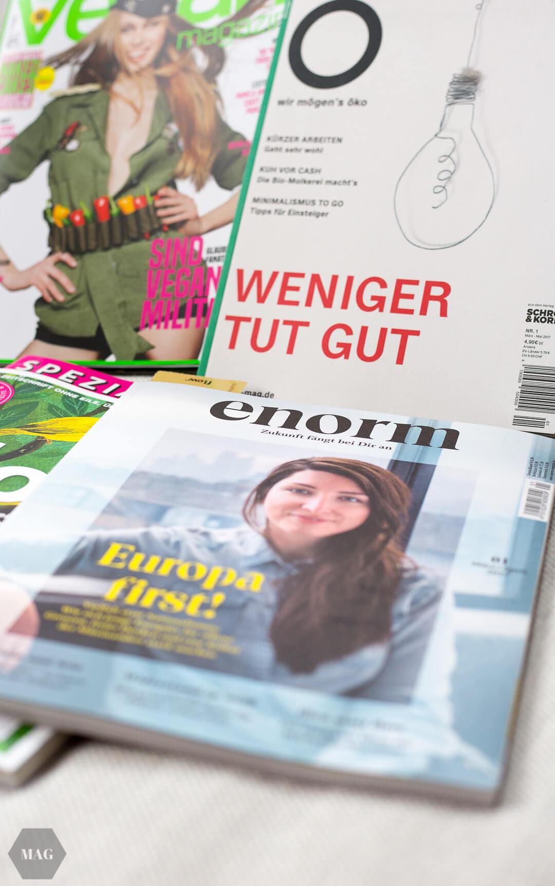 grüne magazine, nachhaltige magazine, ö magazin, ö wir mögens öko, fluter, flow magazin, veganmagazin, veganes magazin, nachhaltige magazine, nachhaltige leseinspiration, nachhaltiges lesen, magazinfavoriten nachhaltig, welche magazine nachhaltig, grüne magazine kaufen
