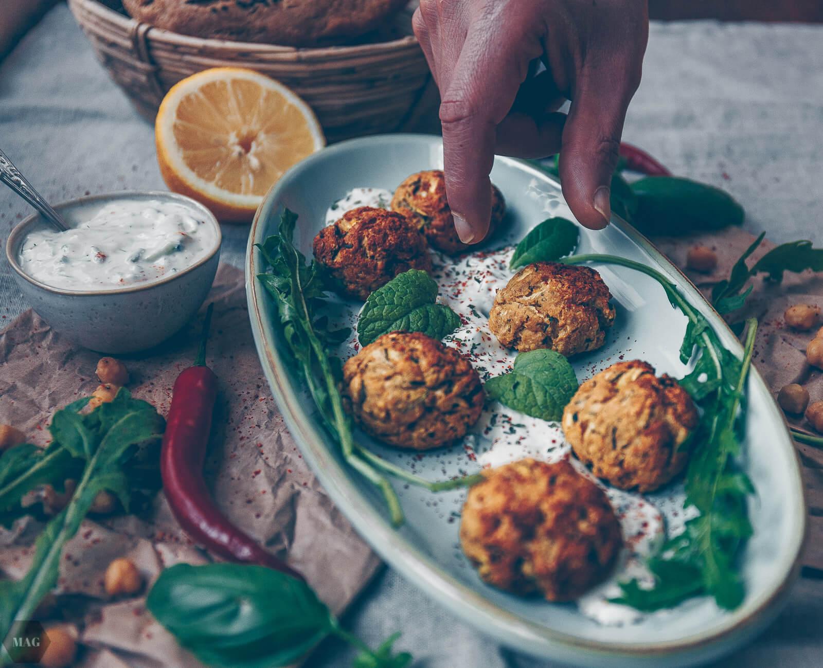 Schnelle Kichererbsen Falafel Aus Dem Ofen Mehr Als Grünzeug